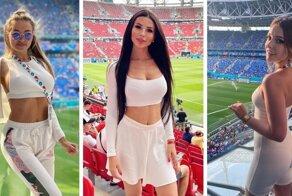 Улыбка, грудь, ноги: россиянки лидируют в рейтинге самых красивых болельщиц ЕВРО-2020