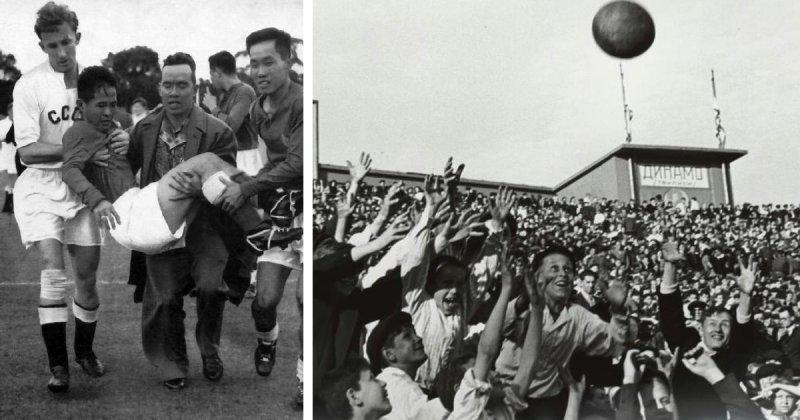 Редкие кадры из истории советского футбола, которые вы должны увидеть