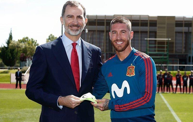 Король Испании приедет в Москву на матч ЧМ-2018 с Россией