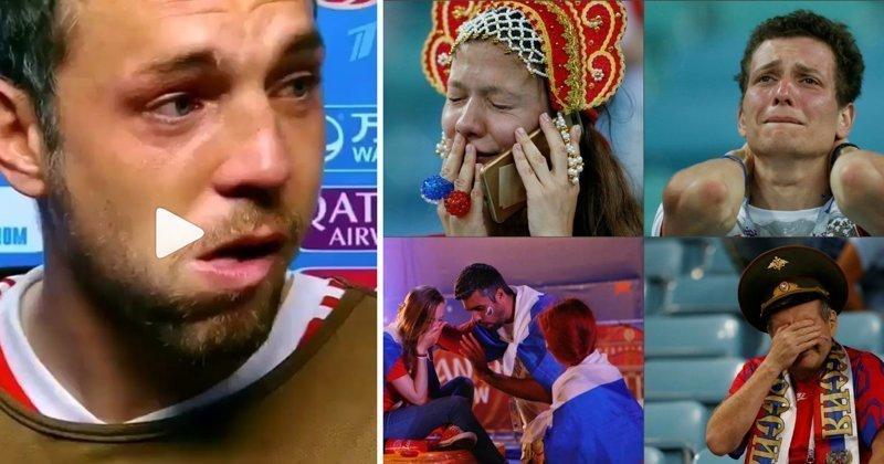 Радость, боль, неоправданные ожидания: эмоции матча Россия - Хорватия