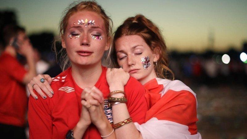 Как плакали английские фанаты, когда хорваты отобрали у них мечту