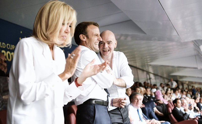 Политики и знаменитости на трибунах чемпионата мира в России