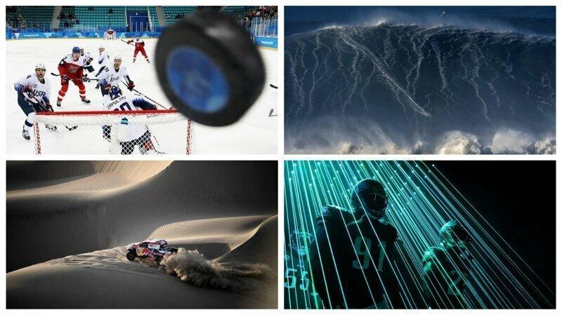 Лучшие спортивные фотографии 2018 года от Getty Images