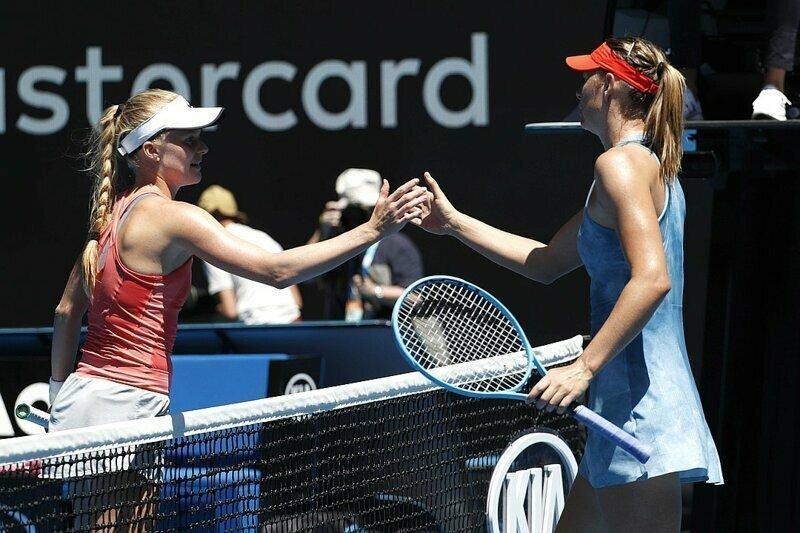Мария Шарапова стартовала на Australian Open, сокрушив британскую теннисистку 6:0, 6:0