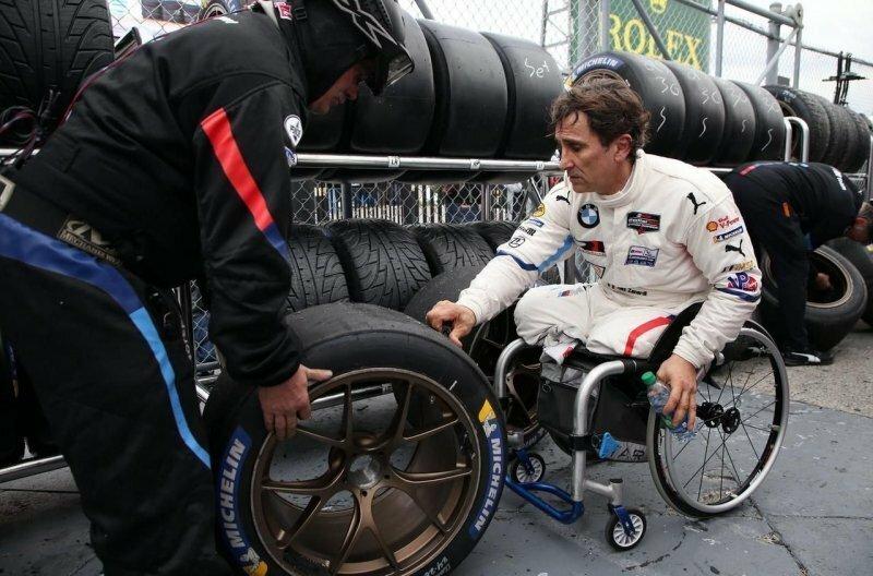 Как Алессандро Занарди проехал гонку «24 часа Дайтоны» на ручном управлении
