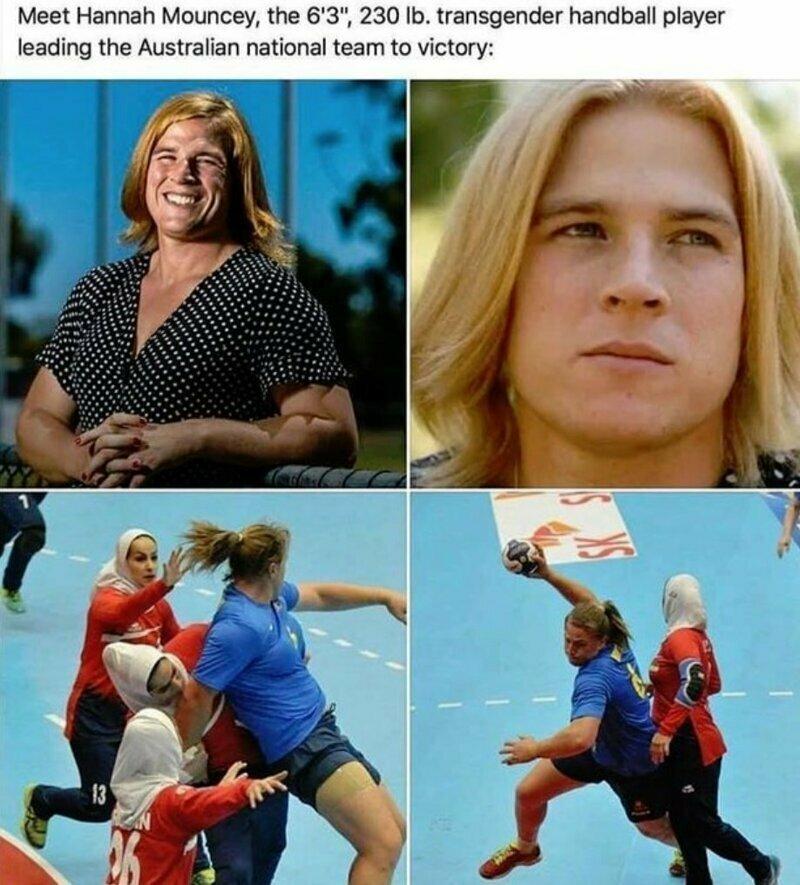 Трансгендерное нашествие в большой спорт