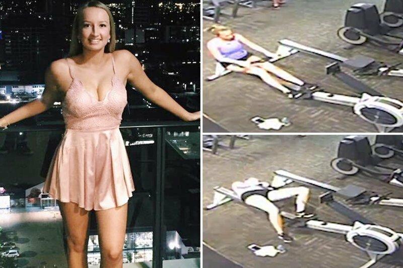 Девушка потеряла сознание в спортзале прямо во время выполнения упражнения