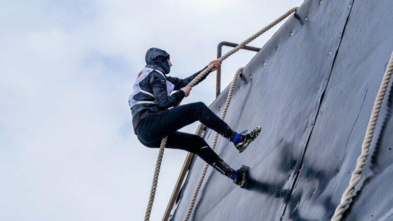В Санкт-Петербурге завершился финальный этап забегов с препятствиями «Гонка героев зима»-2019