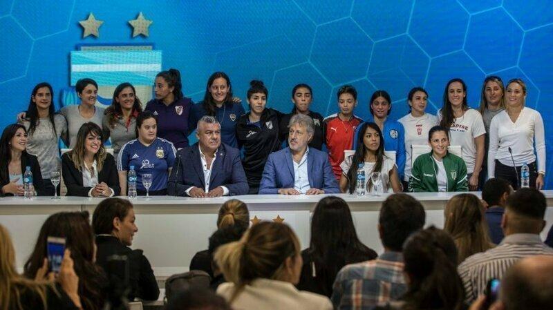 Женский футбол в Аргентине станет профессиональным