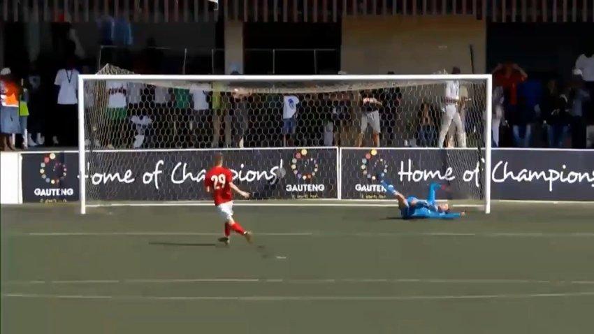 Курьёзный пенальти в матче юношеского «Спартака» на турнире в ЮАР