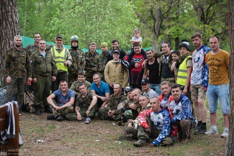 Суворовский бросок 2019 Турнир по  тактическому пейнтболу