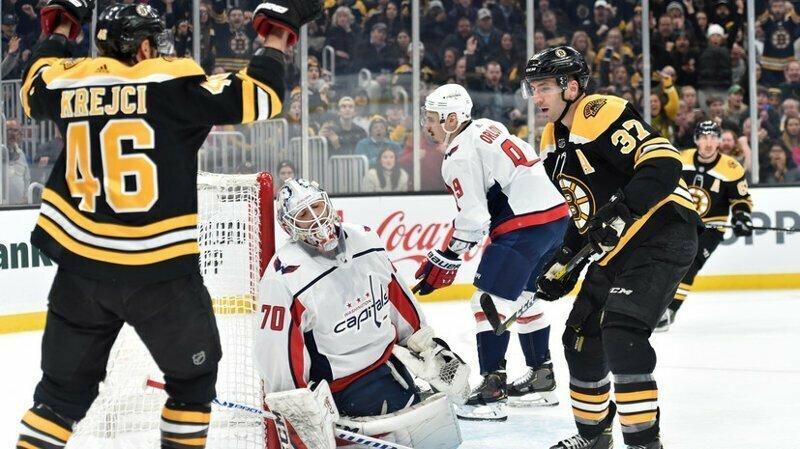 Овечкин поучаствовал в массовой драке с игроками «Бостона»