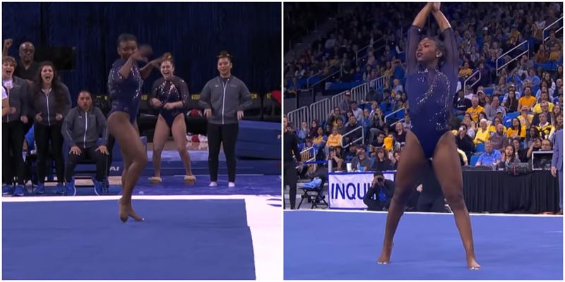 Американская гимнастика выступила под песню Бейонсе