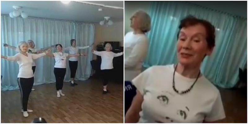 80-летняя россиянка занялась балетом и теперь счастлива