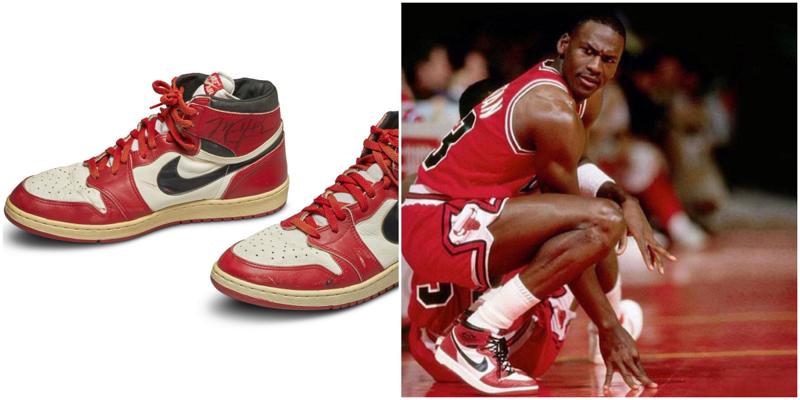 Легендарные кроссовки Майкла Джордана продали за рекордную сумму