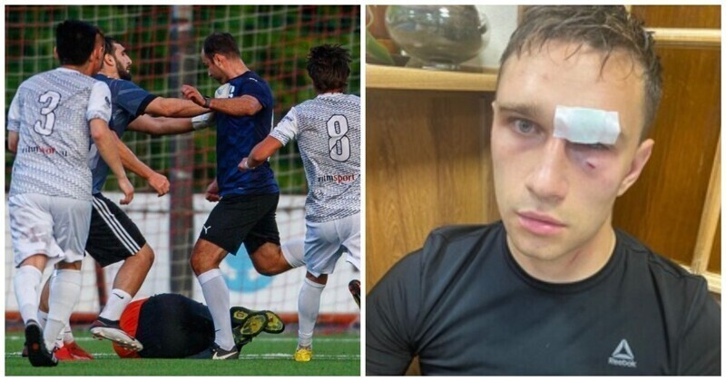 Роман Широков избил судью во время матча любительских команд