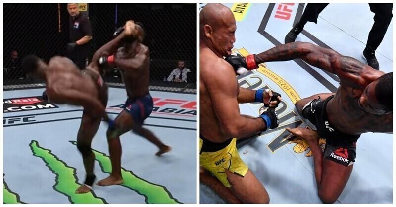UFC опубликовал видео с лучшими нокаутами 2020 года
