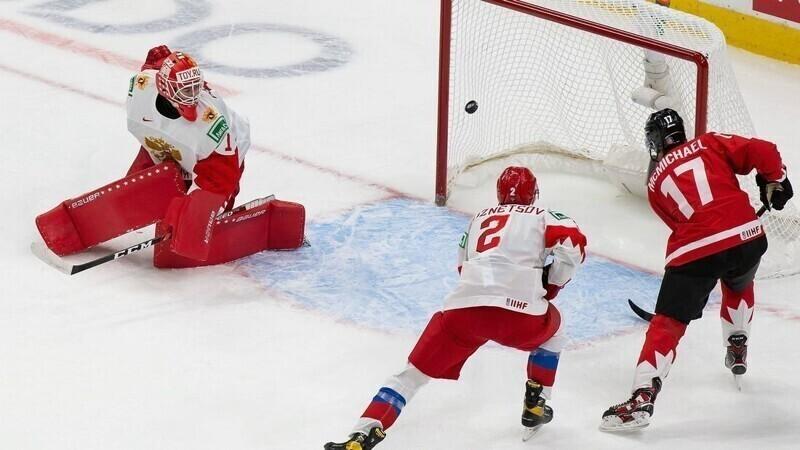 Молодежная сборная России в полуфинале разгромно проиграла канадцам
