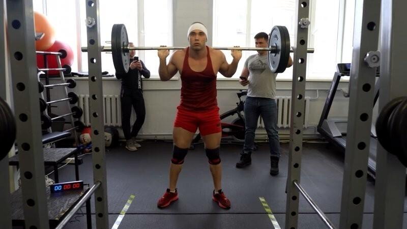 Русский пауэрлифтер попал в Книгу рекордов Гиннеса
