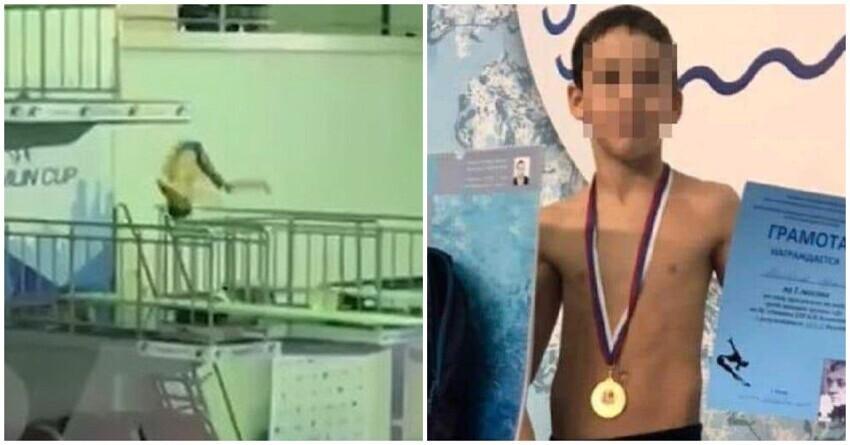 Юный прыгун в воду из Казани ударился головой о вышку и впал в кому