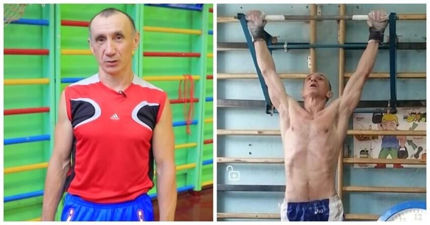 59-летний красноярец подтянулся 4096 раз и попал в Книгу рекордов