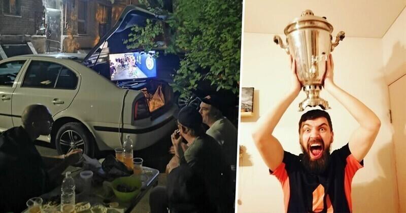 Как россияне болели за клуб Абрамовича в финале Лиги Чемпионов