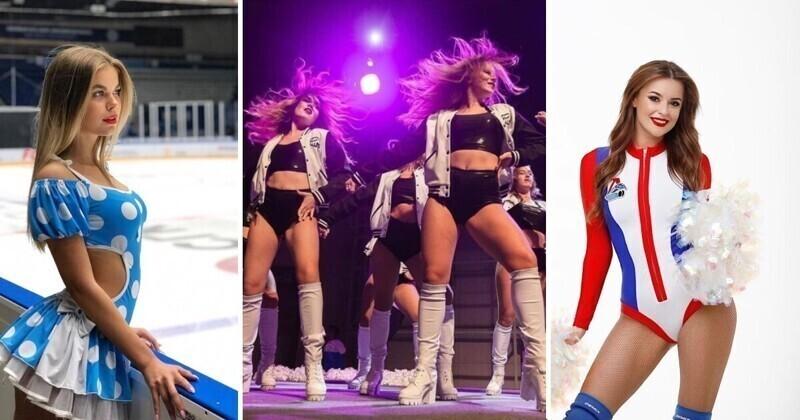 Девушки-ураган: самые эффектные группы поддержки российских хоккейных команд. Часть 2