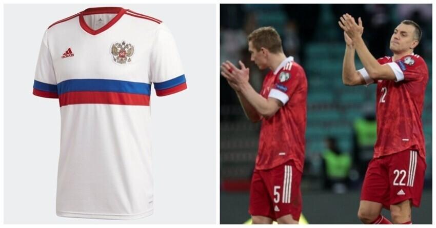 Форму сборной России внесли в топ-3 самых красивых на Евро-2020