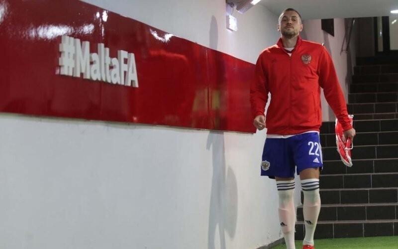 Артём Дзюба обратился к болельщикам после открытой тренировки сборной России