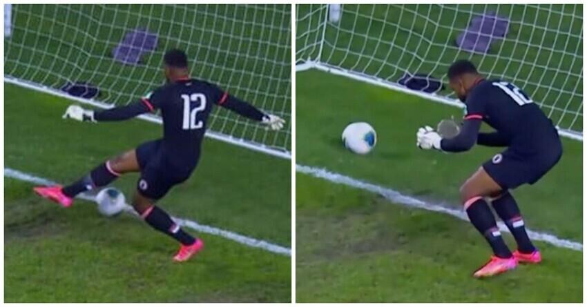 Вратарь сборной Гаити пропустил один из самых  нелепых автоголов в истории футбола