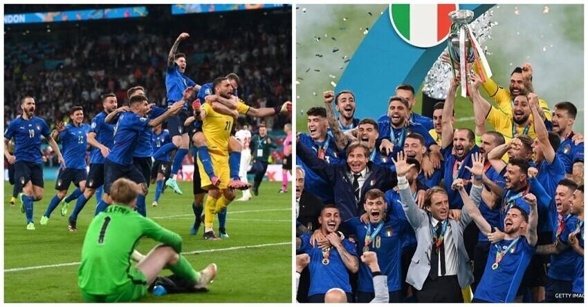 Сборная Италии обыграла англичан и стала чемпионом Европы по футболу