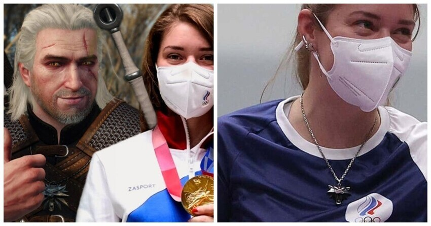 """Создатели игры """"Ведьмак"""" поздравили российскую спортсменку с золотой медалью"""