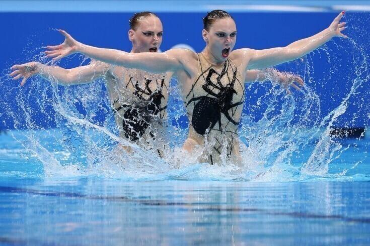 Российским синхронисткам опять выключили музыку на Олимпиаде