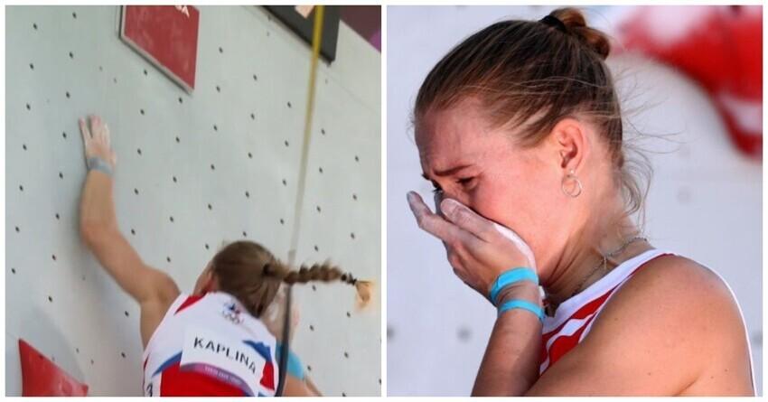 Трагическая неудача: российская скалолазка сорвалась со стены за мгновение до мирового рекорда