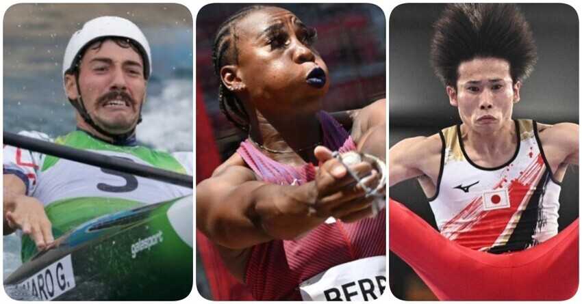 Напряженные и нелепые лица спортсменов на Олимпиаде в Токио, заслуживающие отдельных медалей и наших улыбок
