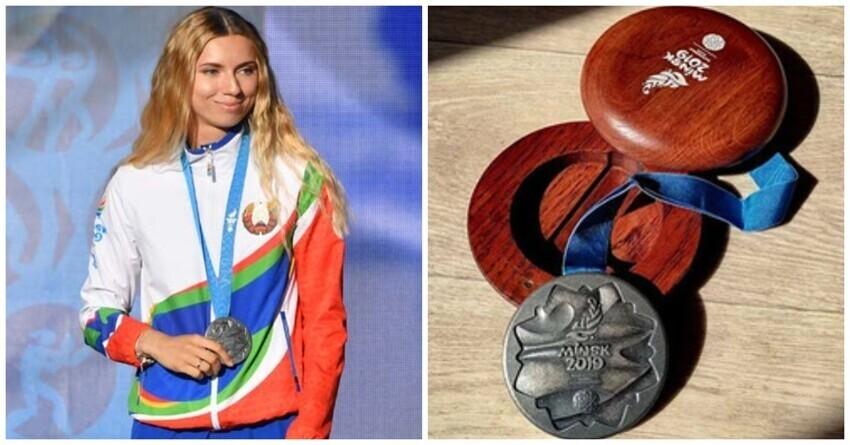 Сбежавшая в Польшу белорусская легкоатлетка продает медаль на аукционе