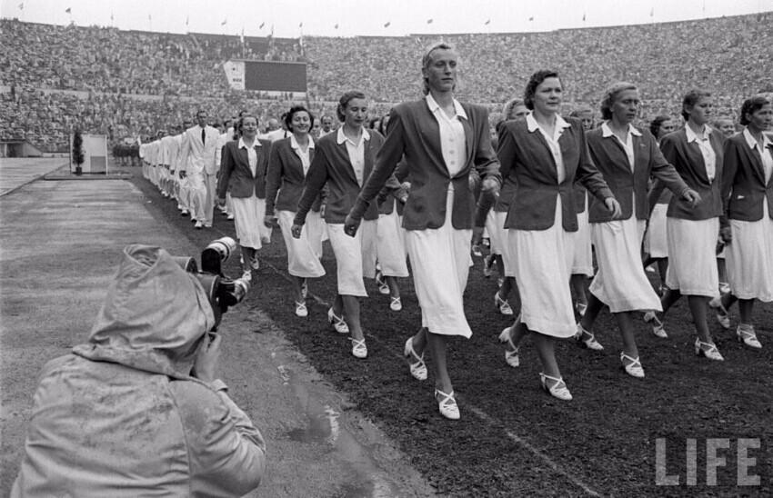 Хельсинки 1952. Олимпиада победителей. Первые чемпионы СССР
