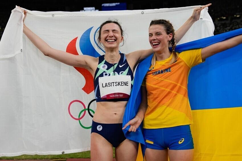 Что ответила украинская спортсменка, которая обнималась с россиянкой
