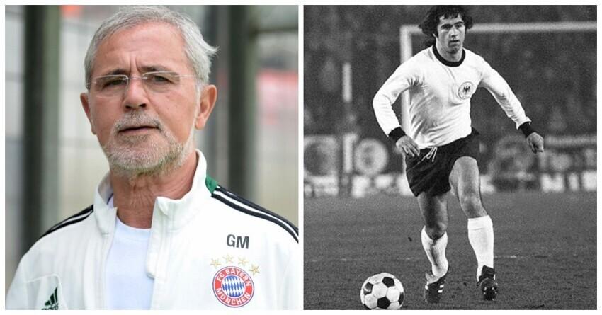 В Германии умер легендарный футболист Герд Мюллер