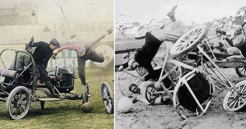 История автомобильного поло: еще больше лошадиных сил