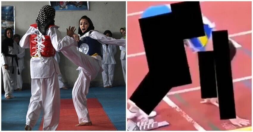 Талибы запретили афганским женщинам заниматься спортом