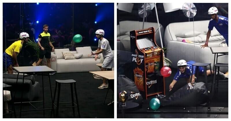 Чемпионат по игре с воздушными шариками – развлечение не для слабаков