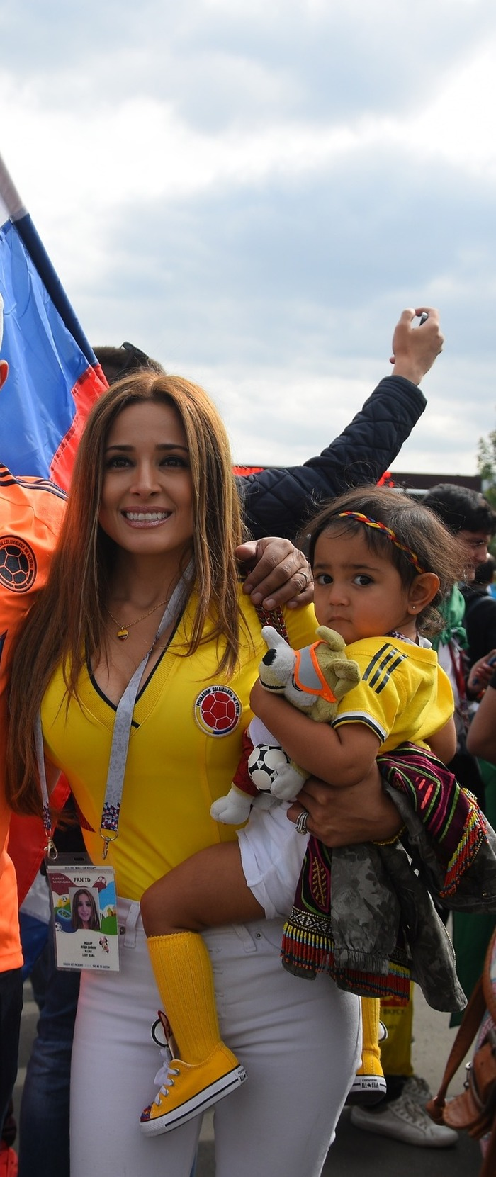 Южноамериканки - это тема для отдельного поста! болельщицы, девушки, спорт, фанатки, футбол, чм-2018