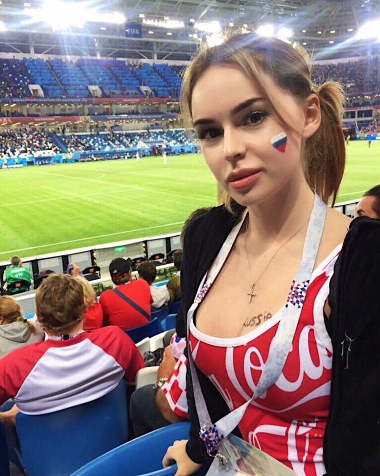 Ходят слухи, что в Россию приехали самые красивае девушки со всей планеты болельщицы, девушки, спорт, фанатки, футбол, чм-2018
