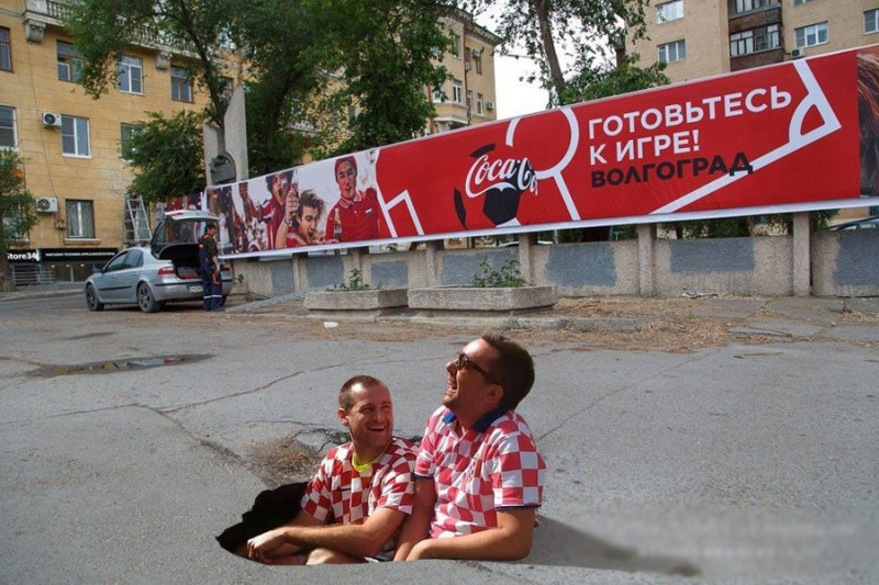 Сумасшедшие приключения иностранных болельщиков в России