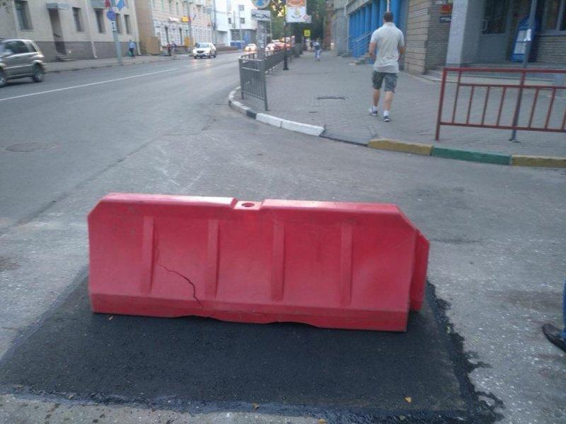 Сутки понадобились дорожникам, чтобы заделать яму. Друзья, а в вашем городе есть проблемы с дорогами? Хорваты принимают заявки!