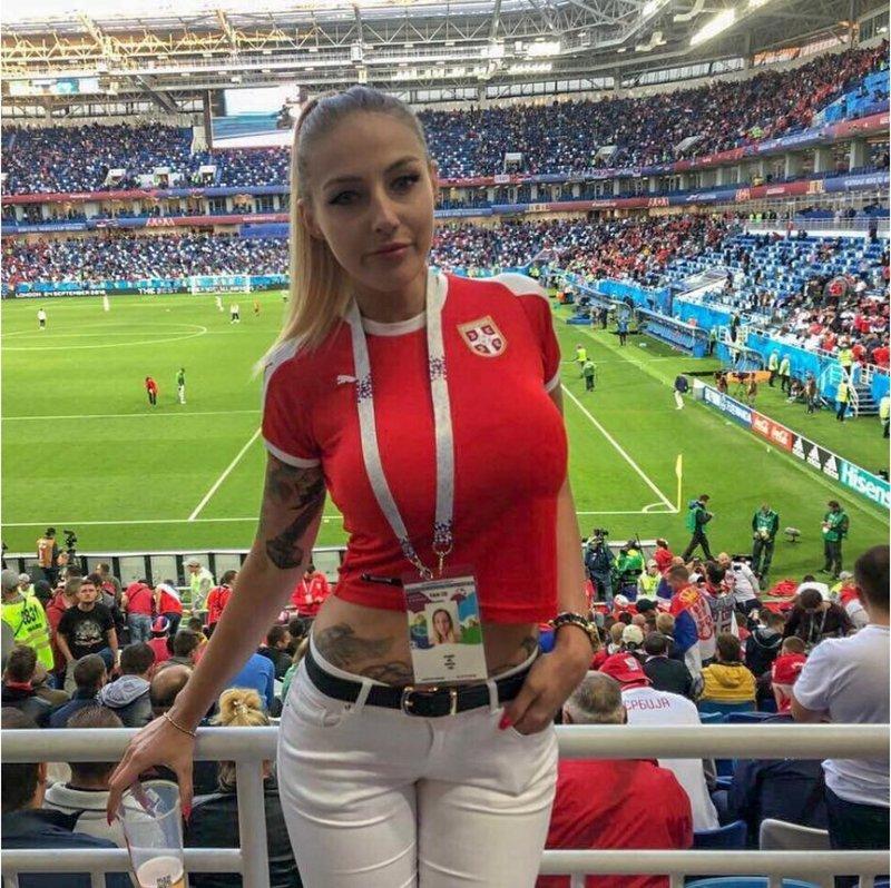 Вот такие прекрасные девушки приехали на ЧМ-2018 в Россию
