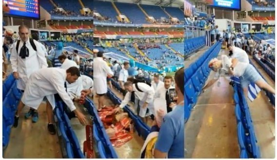 Японские болельщики изменили культуру футбольного мира болельшики, болельщики за чистоту, похвальная инициатива, убери за собой, уборка на стадионе, утбол, чемпионат мира, японцы