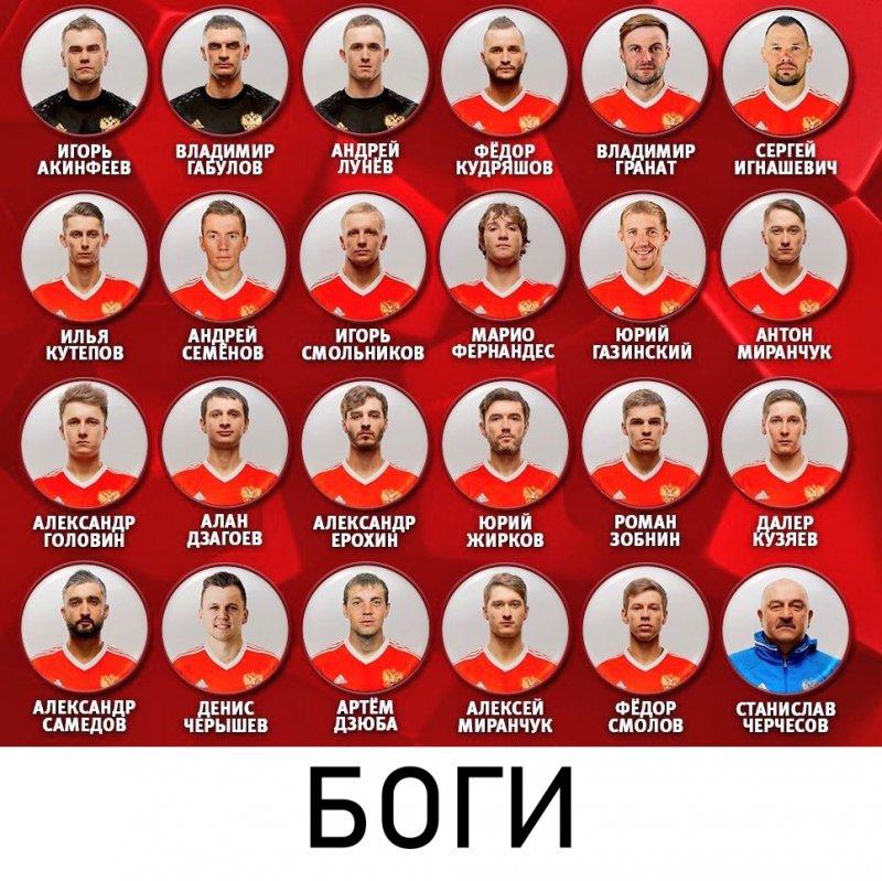 Даже те, кто не верил в команду до старта ЧМ-2018, сейчас поют дифирамбы Черчесову и Ко Испания, россия, спорт, футбол, чм-2018