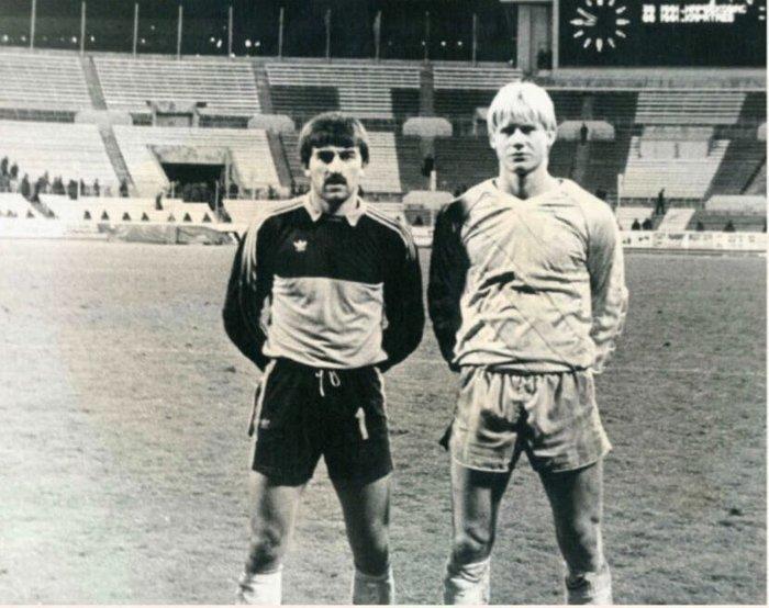 Шмейхель опубликовал фотографию с Черчесовым 33-летней давности